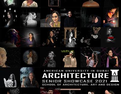 American University in Dubai BArch Senior Showcase 2021