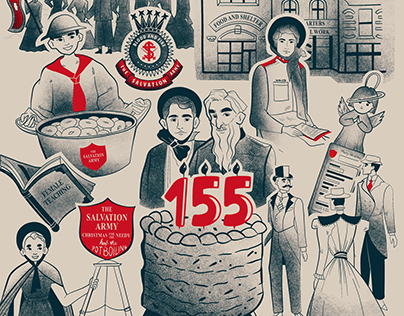 Salvation Army History Illustrations
