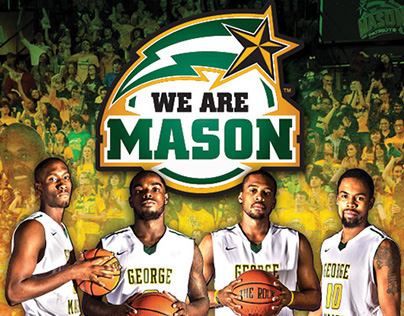 George Mason University Basketball Schedule Poster