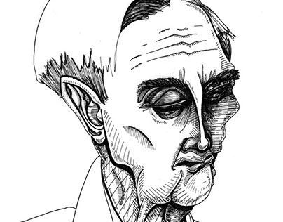 Portrait of E.O. Wilson