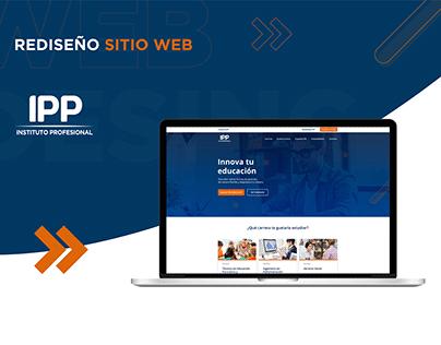 Rediseño Sitio Web IPP