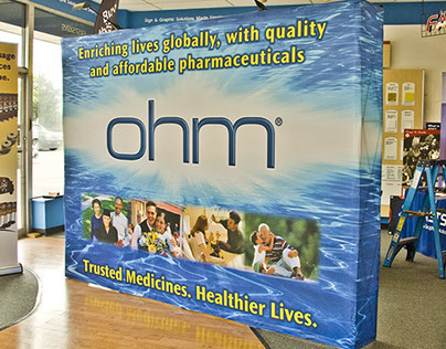 Tradeshow Displays and Large Outputs