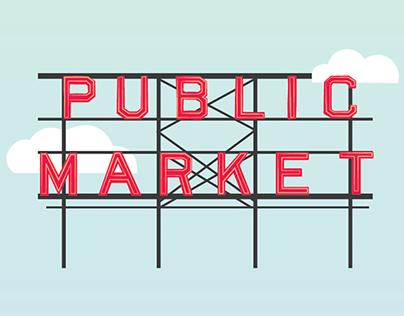 Public Market Typeface