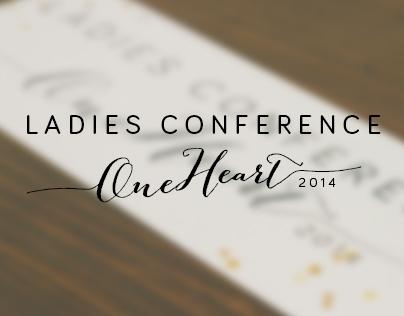 Ladies Conference Branding, Web Design, & Print Design