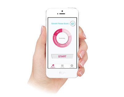 Sensilk Fitness App