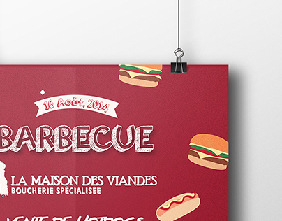 Poster BBQ