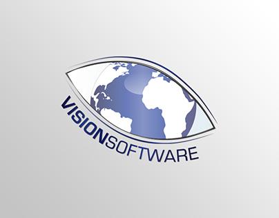 Vision Software | Logo, Business Card & FLyer