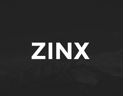 ZINX iPhone App Concept