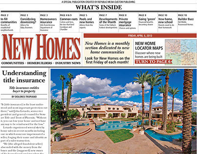 New Homes Monthly