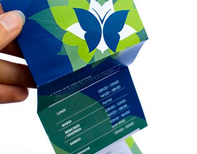 Leaflet for a Florist/Ceramist