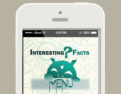 Interface  of App - Interesting facts