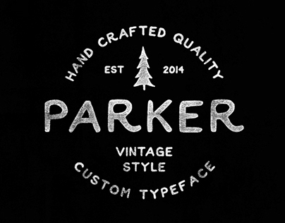 Parker (Free Font)