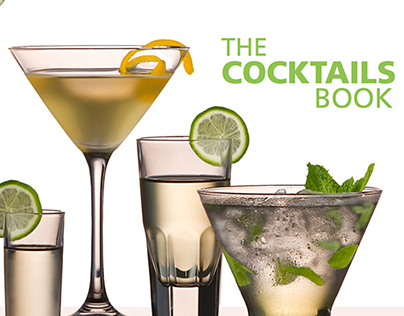 The Cocktails Book // RISD project
