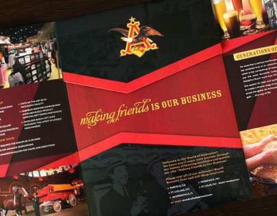 Budweiser Brewery Tour Collateral