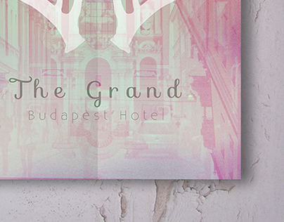 Movie Poster Design – The Grand Budapest Hotel