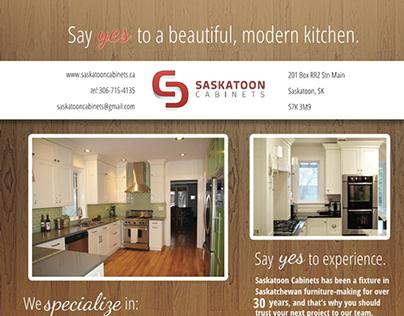 Saskatoon Cabinets flier