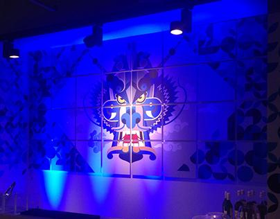 Adidas Originals Shanghai Flagship Launch Party Art