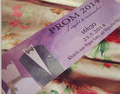 Prom ticket