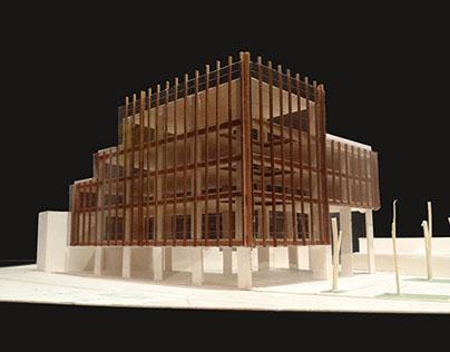 Proyecto Habitar - 2012.1 - Entrega Edificio Público