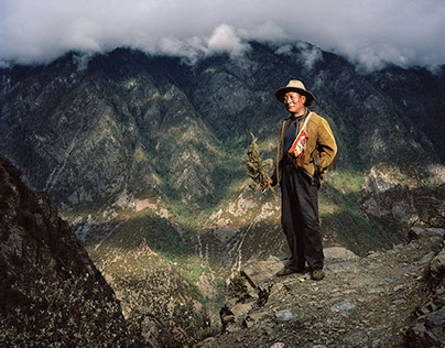 """Here There Are Men"" - China Portraits / Tibet"