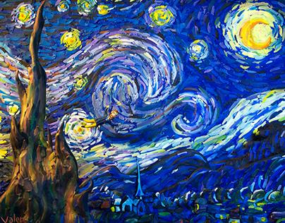 Plasticine Van Gogh