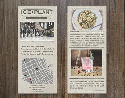 Ice Plant Rackcard