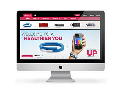 Jawbone Up Website
