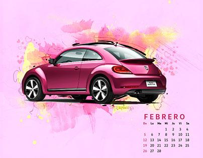 Calendario Volkswagen 2017