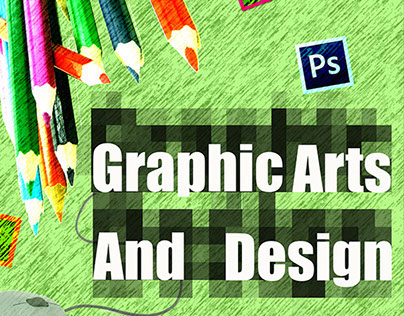 Graphic Arts and Design Poster