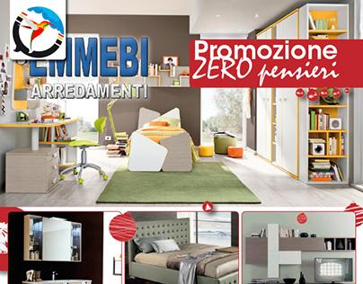 Grafica Volantino Arredamenti Flyer Promo