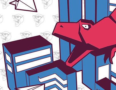 Illustration: Paper Monstrosity