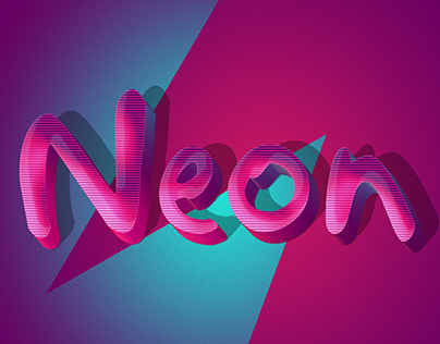 Retro Funky 3D Text Effects