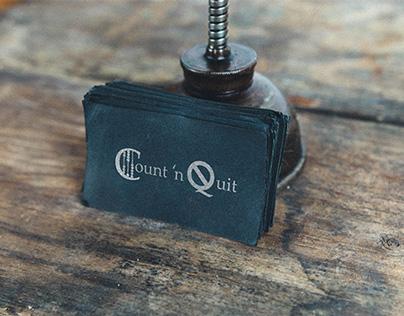 Count N Quit Logo Design