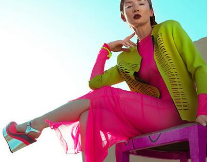 Neon Sun for Crave Magazine