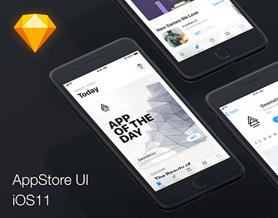 iOS11-App-Store-Design-UI.sketch