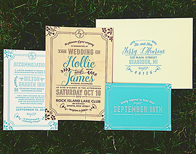Wedding Invitation Suite