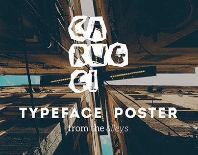 Caruggi / Typeface Poster