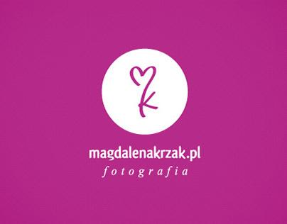 Logotype for magdalenakrzak.pl