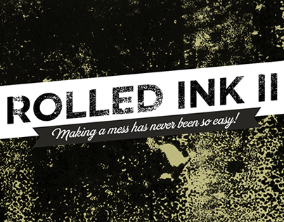 Rolled ink textures II