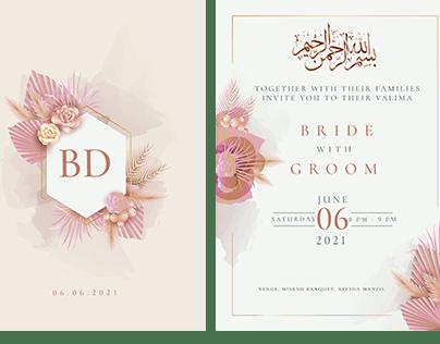 Wedding Card Luxurious