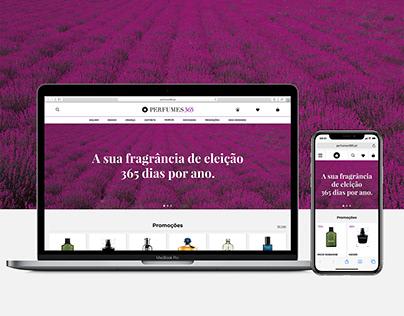 Perfumes 365 e-commerce website