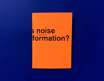 Noise formation?