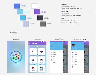 Basic Need - UI/UX