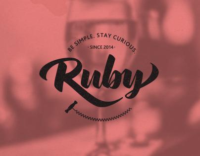Ruby Bar - Имиджевая страница