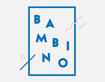 BAMBINO Typeface