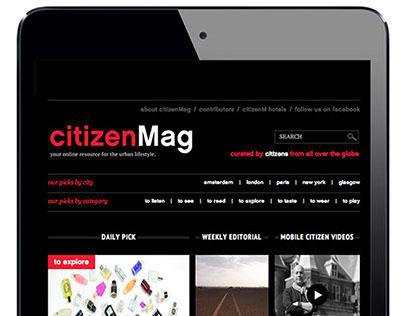 Online Magazine citizenMag