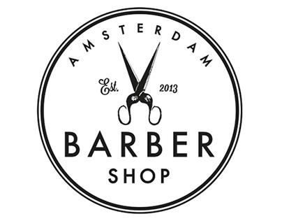 Brand Identity for Amsterdam Barber Shop