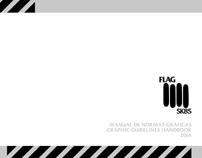 Flag Sk8s Brand Logo