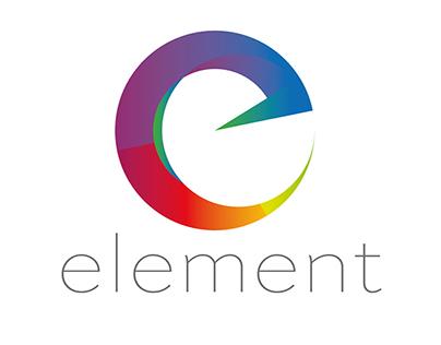 Logo (proposal) for Element 2014 digital agency