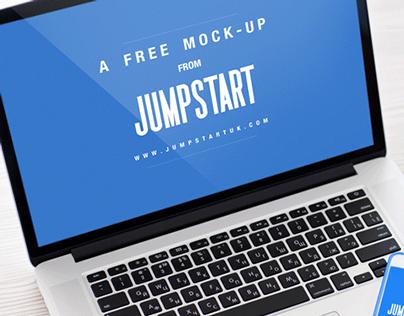 Free PSD Desktop Mock Up
